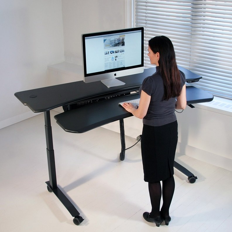 Sitting Solution Standing Desk